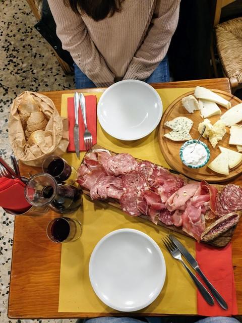 Pranzo da Pretto a Siena